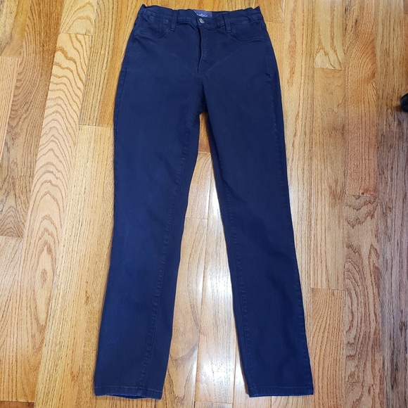 NYDJ Denim - Lift tuck Straight leg dark denim jeans pants 4P